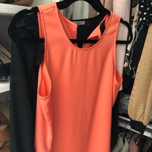 Ann Taylor - Orange tank/ size M